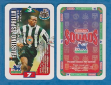 Newcastle United Faustino Asprilla Colombia S97